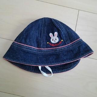 ミキハウス(mikihouse)のMIKI HOUSE ミキハウス帽子 48㎝(帽子)