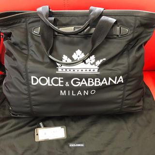 ドルチェアンドガッバーナ(DOLCE&GABBANA)のDolce&Gabbana ロゴプリント トラベル トート(トートバッグ)