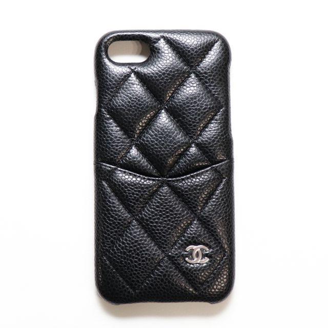 iphone7 ケース burberry | CHANEL - 新品 正規品 シャネル iPhoneケース スマホケース ブラック マトラッセの通販 by JACK_IN|シャネルならラクマ