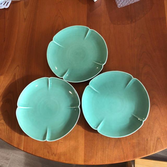 Jenggala(ジェンガラ)のJENGGALA ディナー皿 美品 3枚組 インテリア/住まい/日用品のキッチン/食器(食器)の商品写真