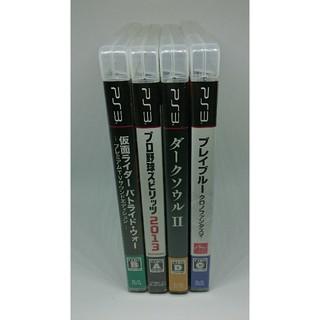プレイステーション3(PlayStation3)のPS3 名作ソフト 4本セット(家庭用ゲームソフト)