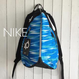 ナイキ(NIKE)のNIKE♪ レディース・キッズ向けバックパック ブルー/ブラック 海外購入品(リュック/バックパック)