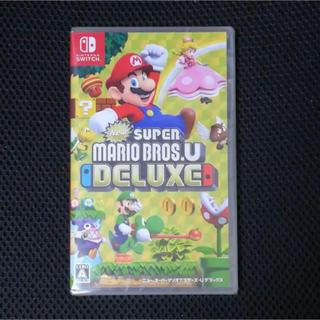 ニンテンドースイッチ(Nintendo Switch)のNew スーパーマリオブラザーズ U デラックス 新品(家庭用ゲームソフト)