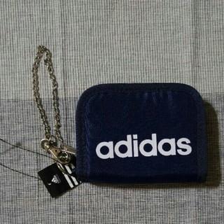 アディダス(adidas)のadidas財布【紺】(折り財布)