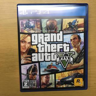 プレイステーション4(PlayStation4)のGTA5 PS4 超美品(家庭用ゲームソフト)