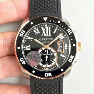 カルティエ(Cartier)のJF工場 カリブル ドゥ カルティエ RG ベゼル 1:1BEST(腕時計(アナログ))