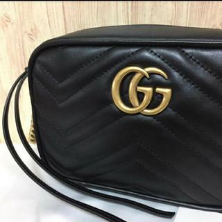 グッチ(Gucci)のGUCCI グッチ GG マーモント ショルダーバッグ(ショルダーバッグ)