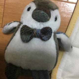 シマムラ(しまむら)のハリスツイード ペンギン ぬいぐるみ【最終値下げ】(ぬいぐるみ)