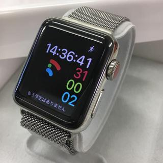 アップルウォッチ(Apple Watch)のApple Watch series3 セルラーモデル Stainless(その他)