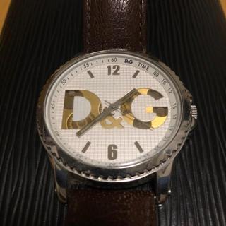 ドルチェアンドガッバーナ(DOLCE&GABBANA)の【格安値下げ】DOLCE&GABBANA D&G 腕時計 レザー(腕時計(アナログ))