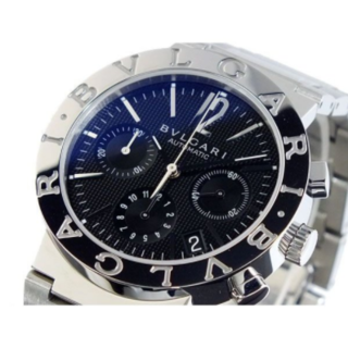 ブルガリ(BVLGARI)のブルガリ BVLGARI 自動巻き クロノ 腕時計 BB38BSSDCH 中古(腕時計(アナログ))