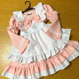 キャサリンコテージ(Catherine Cottage)のアリス風ドレス ピンク 120(ワンピース)