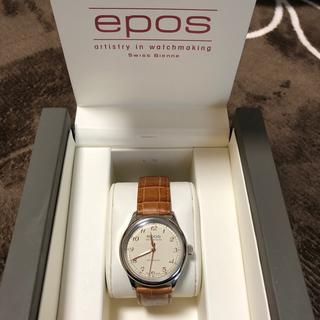 エポス(EPOS)のepos 腕時計(腕時計)