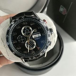 タグホイヤー(TAG Heuer)のタグ・ホイヤー   TAG HEUER  腕時計 メンズ 黒(腕時計(アナログ))
