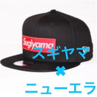 1997fef6c49 ニューエラー(NEW ERA)のsugiyama BOXLOGO CAP BLACK×RED BOX