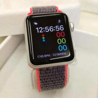 アップルウォッチ(Apple Watch)のApple Watch SPORT Silver(その他)