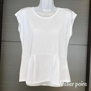 ジーユー(GU)の半袖カットソー*Mサイズ(カットソー(半袖/袖なし))