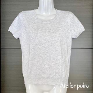 ジーユー(GU)の✰ほぼ新品✰ 半袖ニット*Mサイズ(ニット/セーター)
