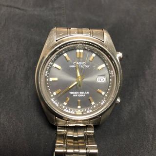 カシオ(CASIO)の【ジャンク】カシオ  ウェーブセプター(腕時計(アナログ))