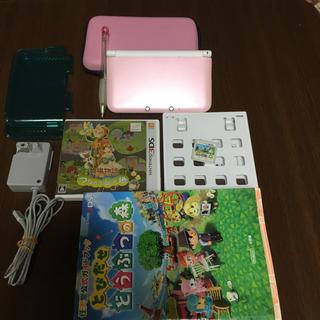 ニンテンドー3DS(ニンテンドー3DS)の3DSLL セット(携帯用ゲーム本体)