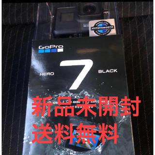 GoPro - 新品 gopro hero7 black CHDHX-701-FWおまけ付き