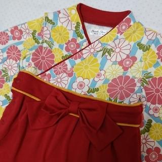 ヒロミチナカノ(HIROMICHI NAKANO)の70サイズ 袴ロンパース ひな祭り(和服/着物)