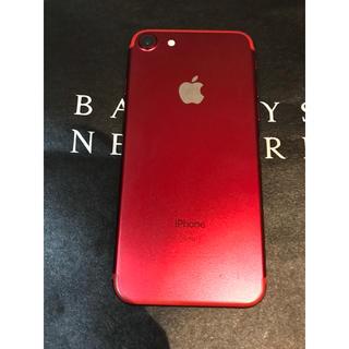iPhone - iPhone7 人気RED !128G SIMフリー