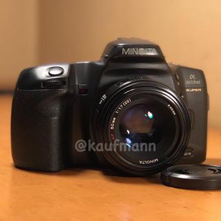 コニカミノルタ(KONICA MINOLTA)のミノルタα303si super+AF50mm少し訳あり レンズ整備撮影確認済み(フィルムカメラ)