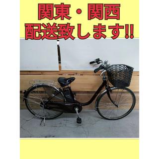 87 パナソニック ビビDX 8Ah 新基準 26インチ 電動自転車(自転車本体)