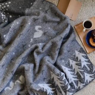 ミナペルホネン(mina perhonen)のミナペルホネン クリッパン ブランケット『レイクインザバレー』(毛布)