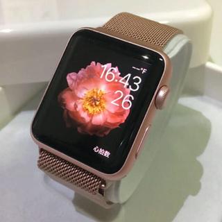 アップルウォッチ(Apple Watch)の大人気カラー ピンク Apple Watch series2 Rose Gold(その他)