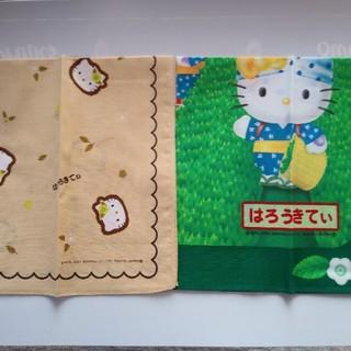ハローキティ(ハローキティ)のキティちゃんランチクロス2枚セット (キャラクターグッズ)