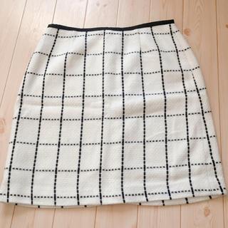 アベイル(Avail)のworks rondo 台形スカート L(ミニスカート)
