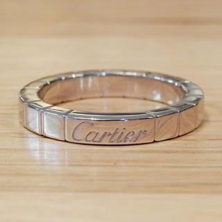 カルティエ(Cartier)の超美品 カルティエ ラニエール リング #51 ホワイトゴールド 11号 K18(リング(指輪))