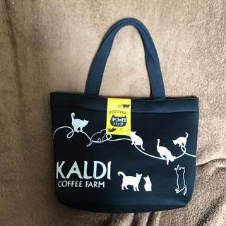 カルディ(KALDI)のカルディ 猫の日 オリジナル ミニトートバッグ 2019(トートバッグ)