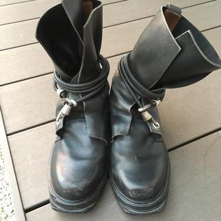 ダークビッケンバーグ(DIRK BIKKEMBERGS)のDIRK BIKKEMBERGS ワイヤーブーツ(ブーツ)