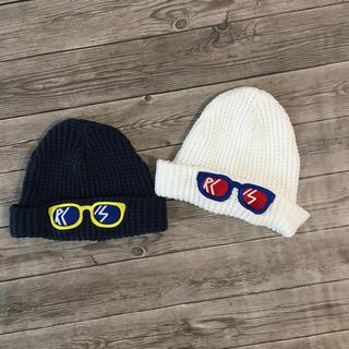 ロデオクラウンズワイドボウル(RODEO CROWNS WIDE BOWL)のロデオクラウンズ  ニット帽  2個 セット(帽子)