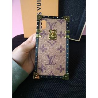 ルイヴィトン(LOUIS VUITTON)のルイヴィトン  iPhoneケース 携帯カバー iPhoneX モノグラム(iPhoneケース)