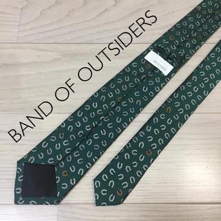 バンドオブアウトサイダーズ(BAND OF OUTSIDERS)のBAND OF OUTSIDERS バンドオブアウトサイダーズ シルクネクタイ(ネクタイ)