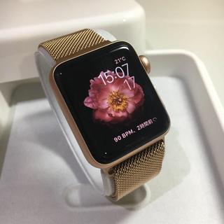 アップルウォッチ(Apple Watch)のApple Watch series3 ゴールド セルラーモデル(その他)
