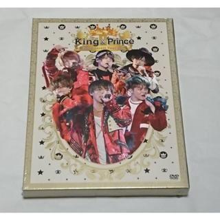 キング&プリンス 初回 2018ライブ DVD(ミュージック)
