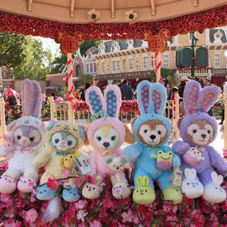 ディズニー(Disney)の2019香港ディズニー限定 イースター  シェリーメイ SSぬいぐるみ5点セット(ぬいぐるみ)