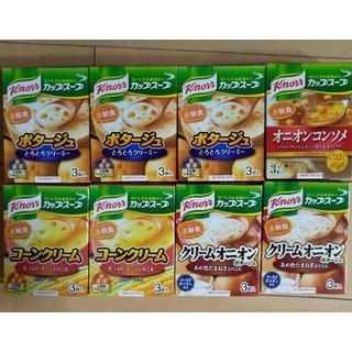 アジノモト(味の素)のクノール カップスープ 8箱 24食(インスタント食品)