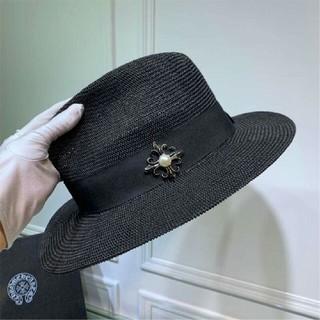 クロムハーツ(Chrome Hearts)のCHROME HEARTS 帽子 ブラック 綺麗 美品(ハット)