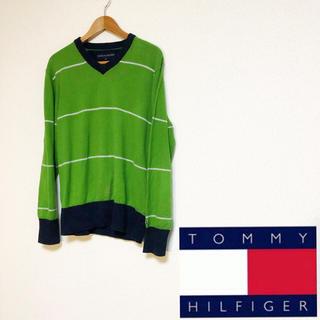 トミーヒルフィガー(TOMMY HILFIGER)のTHOMMY HILFIGER / Random Border Sweater(ニット/セーター)