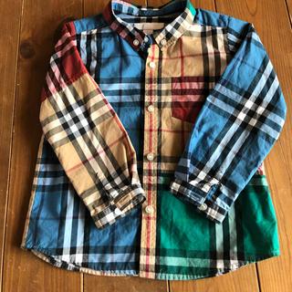バーバリー(BURBERRY)のBURBERRY チェックシャツ(カーディガン)