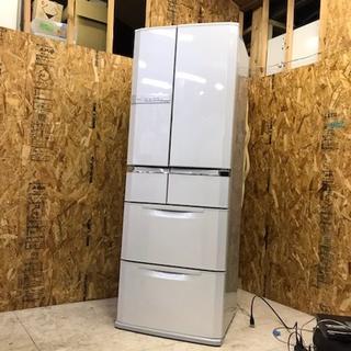 地域限定送料無料 MITSUBISH 6ドア冷蔵庫 大容量465L 動作良好!