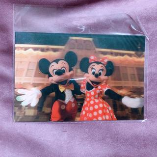 ディズニー(Disney)のディズニー♡ポストカード♡ミッキーミニー♡3D(写真/ポストカード)