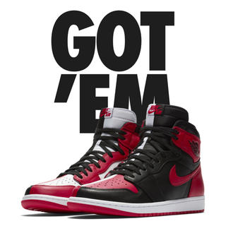 ナイキ(NIKE)のAIR JORDAN 1 RETRO HIGH OG NRG HOME(スニーカー)