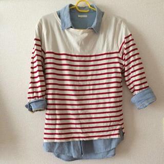 ジーユー(GU)のシャツ メンズMサイズ(シャツ)